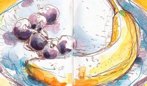 Lebendig skizzieren mit Aquarellfarben