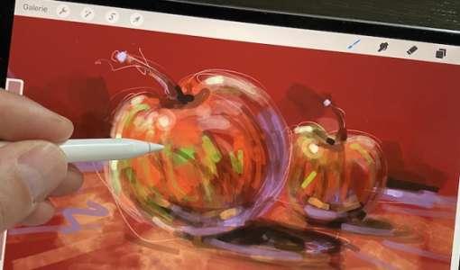 Mit dem iPad & Procreate Malen & Zeichnen lernen